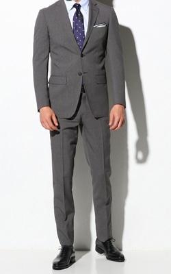 ミディアム グレー スーツ