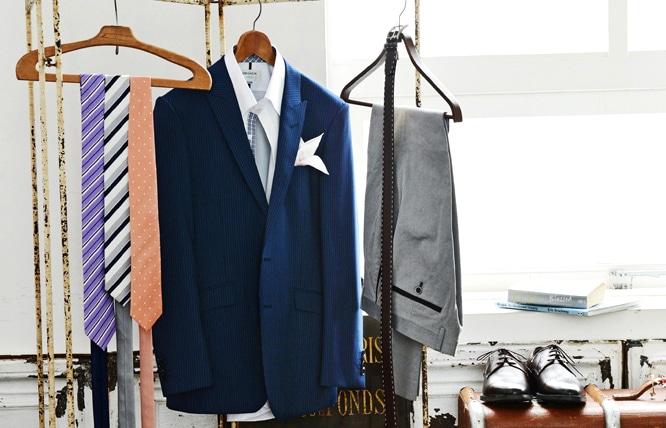 4f363adfa7130 最近よく耳にするジャケパンという言葉、これはテーラードジャケットと、セットアップではないパンツを組み合わせるスタイルのことです。スーツとは違って自由に個性を  ...