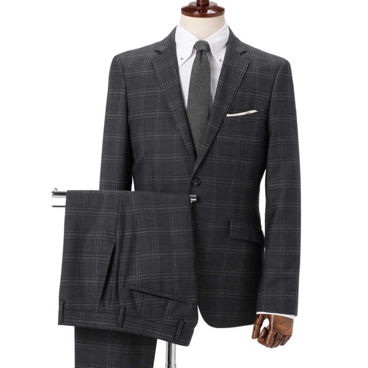965eb6c694 商品詳細 - Limited Slim シャイニーストレッチ グレー グレンチェック スーツ 10month / O41_8852172 /  オリヒカ(オリヒカ) | オリヒカ公式オンラインショップ